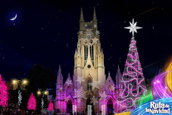 Lourdes Bogota Colombia Christmas 2014